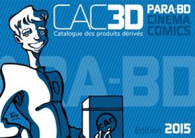 Couverture CAC3D - édition 2015 tome 4 - Para-BD