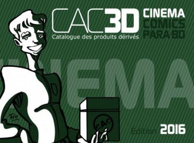Couverture CAC3D tome 5 - édition 2016