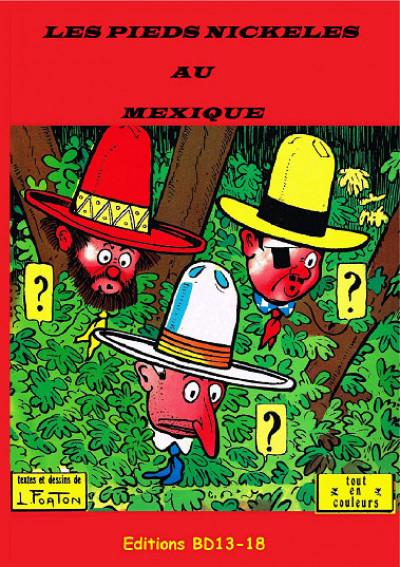 Couverture Les Pieds Nickelés au Mexique