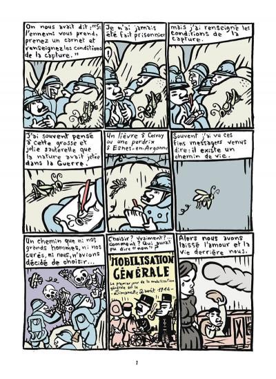 Page 2 Mathurin soldat ; un crayon dans le canon
