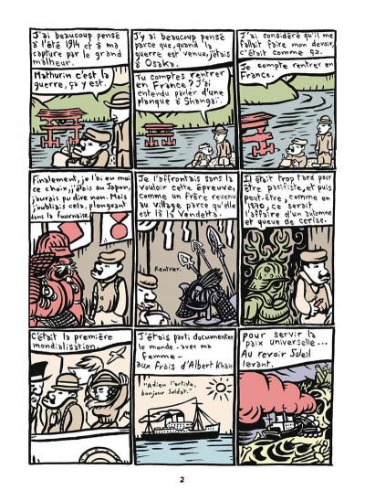 Page 3 Mathurin soldat ; un crayon dans le canon
