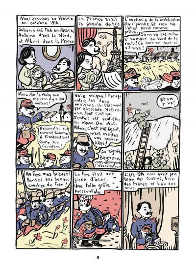 Page 4 Mathurin soldat ; un crayon dans le canon