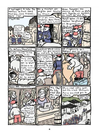 Page 5 Mathurin soldat ; un crayon dans le canon