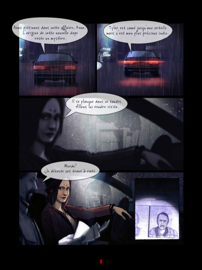 Page 2 Near Humanity tome 1 - De vieux amis