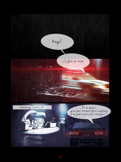 Page 3 Near Humanity tome 1 - De vieux amis