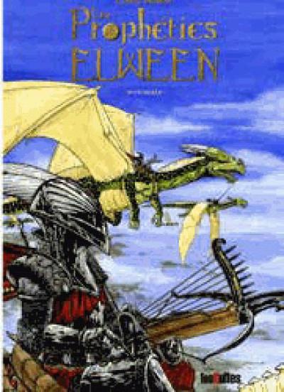 Couverture Les prophéties Elween - intégrale