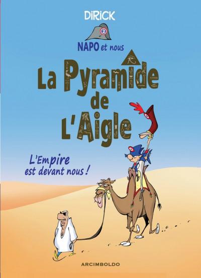 image de Napo et nous... La pyramide de l'aigle