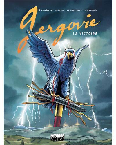 Couverture Gergovie - la victoire