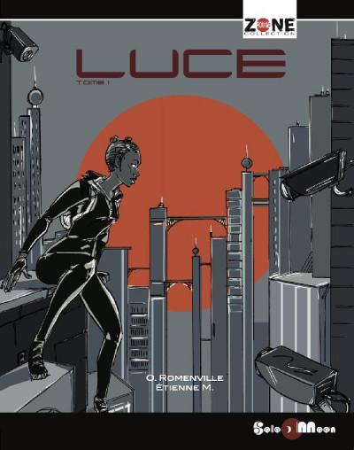 Couverture Luce & Khaliid - intégrale - tome 1 et tome 2
