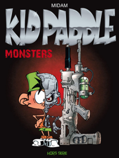 Page g Kid Paddle hors série - monsters