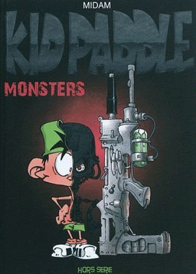 Couverture Kid Paddle hors série - monsters