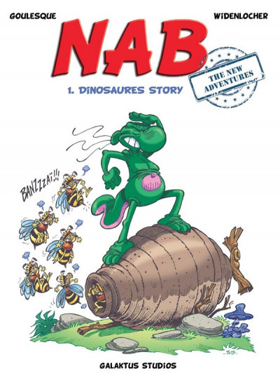 Couverture Nab the new adventures tome 1 - Dinosaures story