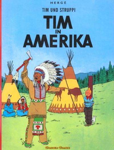 image de Tim und Struppi tome 3 - Tim in Amerika