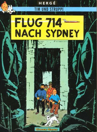 image de Tim und Struppi tome 22 - flug 714 nach Sydney