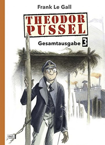 Couverture Theodor Pussel tome 3 (en allemand)