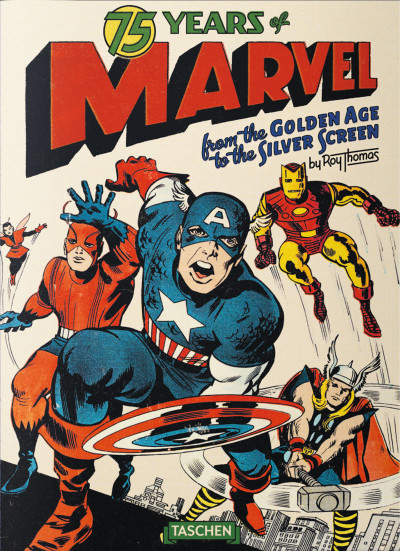 Couverture 75 years of Marvel comics