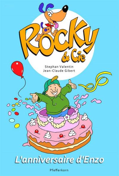 Couverture Rocky et cie, l'anniversaire d'Enzo tome 3