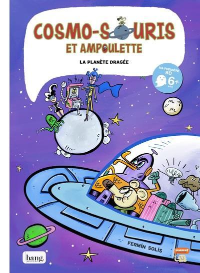Couverture Cosmo-souris et Ampoulette tome 4