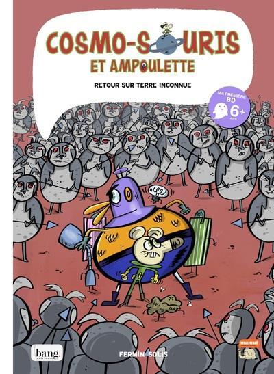 Couverture Cosmo-souris et Ampoulette tome 5