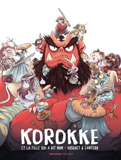 Couverture Korokke et la fille qui a dit non