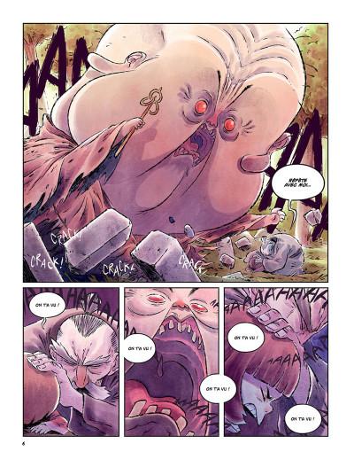 Page 3 Korokke et la fille qui a dit non