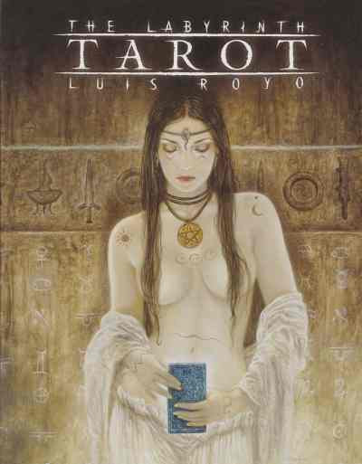 Couverture the labyrinth : tarot