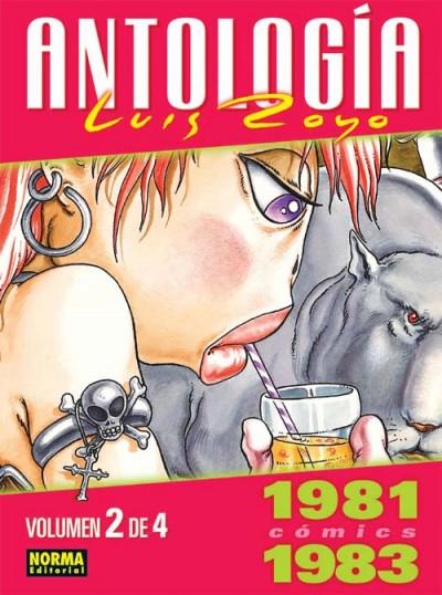 Couverture antologia luis royo tome 2 - 1981-1983