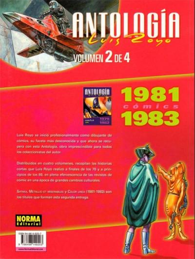 Dos antologia luis royo tome 2 - 1981-1983