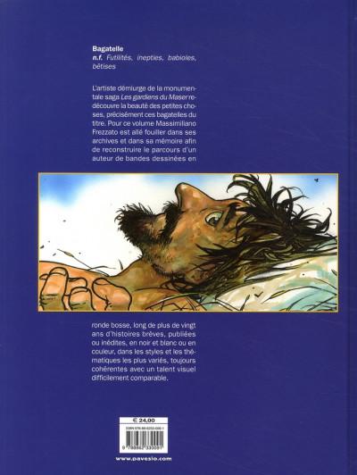 Dos bagatelles ; histoires brèves 1984-2008