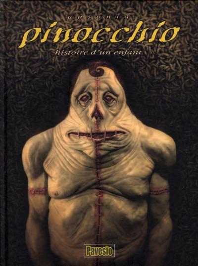 Couverture pinocchio ; histoire d'un enfant