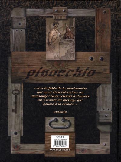 Dos pinocchio ; histoire d'un enfant