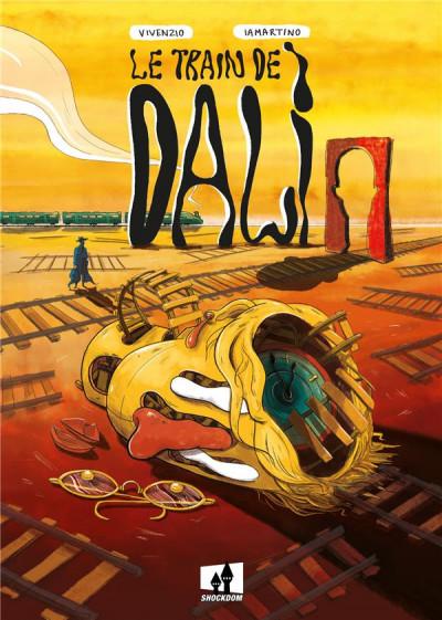 Couverture Le train de Dalí