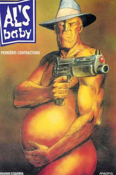 Couverture Al's baby tome 1 - premières contractions