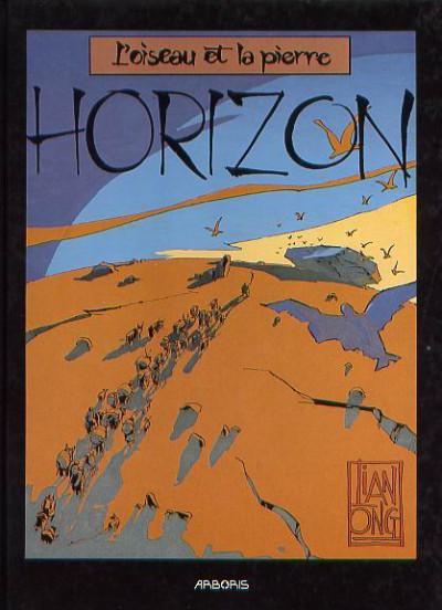 Couverture Horizon tome 1 - l'oiseau et la pierre