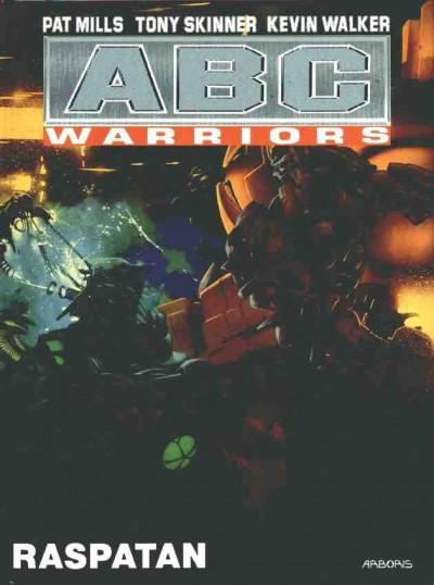 Couverture ABC warriors tome 4 - raspatan