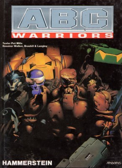 Couverture ABC warriors tome 5 - hammerstein