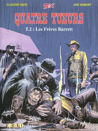 Couverture Quatre tueurs tome 2