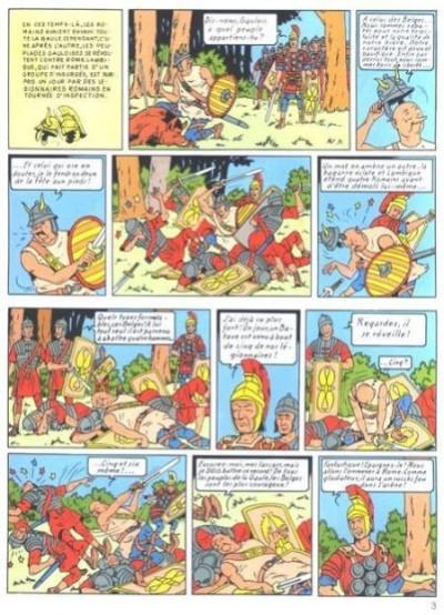 Page 1 Bob et Bobette (Collection classique bleue) tome 5 - Le Gladiateur-Mystère (éd. 2009)