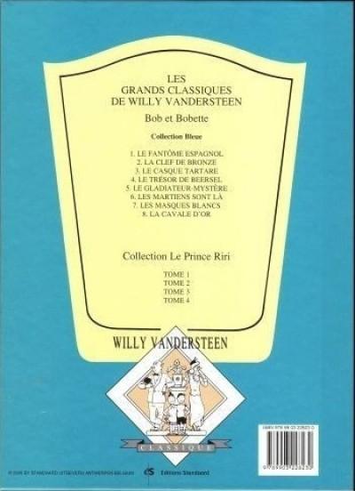 Dos Bob et Bobette (Collection classique bleue) tome 6 - Les Martiens sont là (éd. 2009)