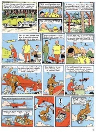 Page 1 Bob et Bobette (Collection classique bleue) - 7/8 - 7 - Les Masques Blancs (éd. 1997)