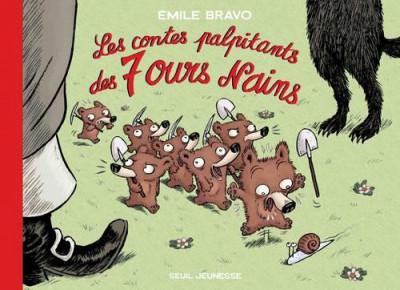 Couverture Les contes palpitants des 7 ours nains