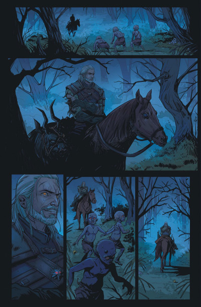 Page 2 The witcher tome 2