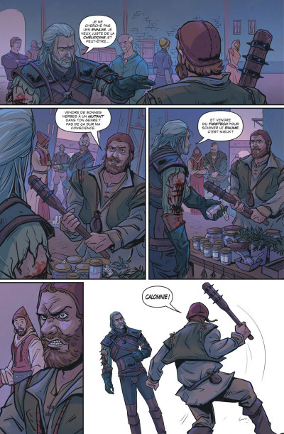 Page 4 The witcher tome 2