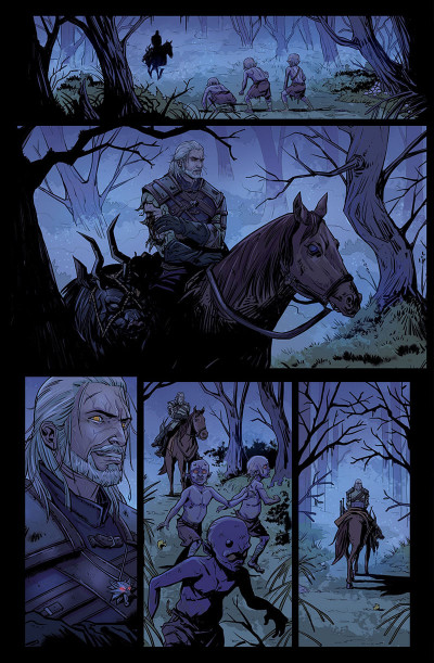 Page 9 The witcher tome 2