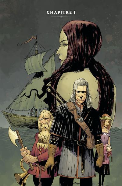 Page 5 The witcher - La légende tome 1 - Les filles-renardes