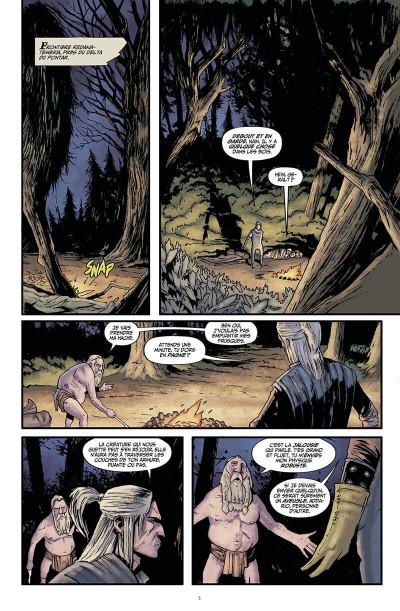 Page 6 The witcher - La légende tome 1 - Les filles-renardes