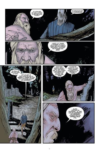 Page 7 The witcher - La légende tome 1 - Les filles-renardes