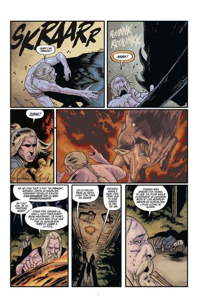 Page 8 The witcher - La légende tome 1 - Les filles-renardes