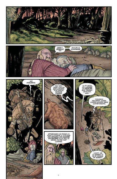 Page 9 The witcher - La légende tome 1 - Les filles-renardes