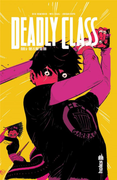 Couverture Deadly class tome 6